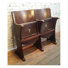 Vintage 50 S Movie Theater Chairs Stunning Set Of 2 Blue