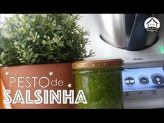 Pesto de salsinha, para bimby, mix, processadores em geral