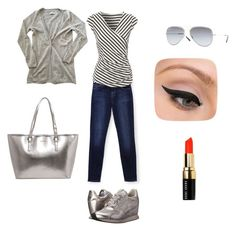 """""""ready for shopping"""" by mersa-mersa ❤ liked on Polyvore featuring Ash, J Brand, Zadig & Voltaire, Jane Norman, LORAC, Bobbi Brown Cosmetics and Ray-Ban"""