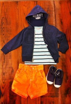 #OOTW Toddler Boys Outfit of the Week. Neons are back this summer season and are more stylish than ever!