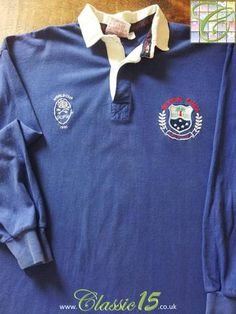 Relive Western Samoa's 1991 World Cup with this original Cotton Oxford home rugby shirt. Rugby Kit, World Cup Shirts, Rugby Shirts, Rugby World Cup, Crests, White Trim, Colorful Shirts, Westerns, Balls