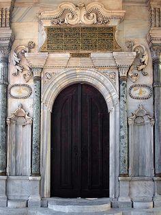 Door in Istanbul #front #door #aged