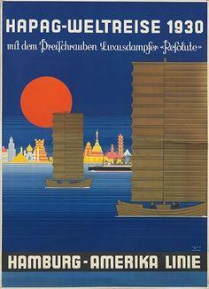 Hamburg - Amerika Linie ~ Paul Theodore Etbauer