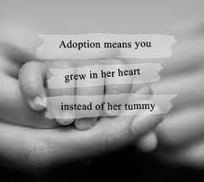 Adoption :) Absolutely adore this!!