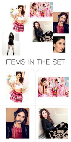 """""""Kareena Kapoor"""" by camillabelle88 ❤ liked on Polyvore featuring art"""