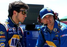 Greg Ives who has guided Chase Elliott to 3 wins and the points lead in the Nationwide series has been named Dale Earnhardt Jr's crew chief in the Cup Series for 2015