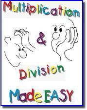 Free e-book with a variety of methods for multiplication and division. New lattice!
