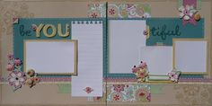 Love this layout & use of an alternative stamp set. You also don't have to do the fabric flowers (as we don't have access to it here in Australia yet), you could use the die cut accents instead.