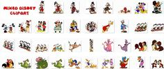 Collection of 38 Mixed Disney Clip Art - It's Free! : ScrapPNG, Transparent PNG Graphics
