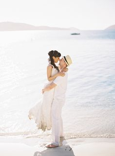 Photography: Kristin La Voie Photography - kristinlavoiephotography.com  Read More: http://www.stylemepretty.com/destination-weddings/2014/07/14/dreamy-st-thomas-destination-day-after-session/