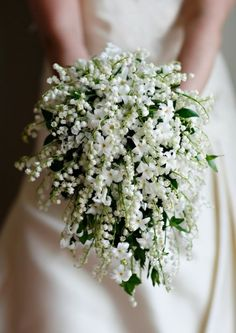 Wedding Bouquets | Simple White