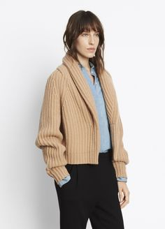 Shawl Collar Cardigan for Women | Vince