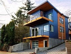Seattle LEED House - Prefab Construction #LEED & 45 best LEED Certified Houses images on Pinterest | House design ...
