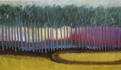 """40""""x 24"""" oil on canvas. A painting also to honor the long leaf pine forest of the Carolinas"""