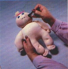 Pattern and instructions to make soft sculpture doll