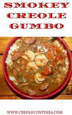 Smokey Creole Gumbo-Creole Contessa