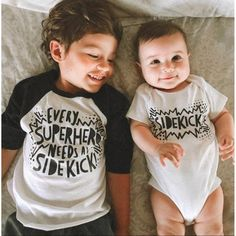 Big Brother Shirt – Big Brother Announcement Shirt – Superhero Shirt- Superhero Sidekick – Big Brother Little Brother – Brother Shirt - Diy Gift For Girlfriend Ideen Big Brother Announcement Shirt, Birth Announcement Girl, Pregnancy Announcements, Pregnancy Photos, New Sibling, Sibling Shirts, Sibling Humor, Baby Baby, Big Brother Little Brother