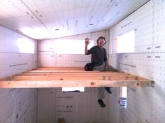The Cost To Build A Tiny House: hOMe Reveal - TinyHouseBuild. pinterest.com/susanengle/cabin/