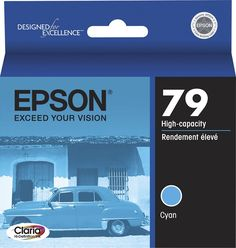 Epson - 79 High Yield Ink Cartridge - Cyan (Blue), T079220