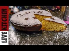 Βασιλόπιτα πολυτελείας (Vasilopita) - Cake Christmas - Live Kitchen - YouTube Vasilopita Cake, Greek Sweets, New Year's Cake, Piece Of Cakes, Greek Recipes, Kitchen Living, Christmas Art, Cake Recipes, Brunch