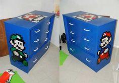 Super Mario Cabinets
