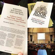 let the festival begin @oaklandbookfestival #oaklandbookfestival #obf #oakland #california keynote tonight by sheryl oring #books #art #aesthetics #race #ethnicity #wealth #class #politics #information #justice #resistance #literature #language all the hot topics
