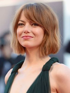 Growing out a pixie? That short, shaggy bob that's everywhere right now (Emma Stone, Kate Mara) is also the style that's going to help you