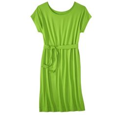 Bridesmaid dress idea.  Merona® Women's Knit Belted Dress - Assorted Colors