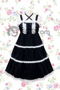 Black And White Cross Halter And Strap High Waist Ruffled Trim L