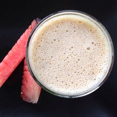 Almond Butter Banana Smoothie via @notsosahmdc