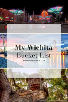 Big list of family-friendly places to visit in Wichita, including museums, restaurants & a wildlife park #Kansas