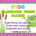 "This 115  page **EDITABLE** packet is full of polka dot & frog themed resources to help you turn any classroom into a stylish ""pad""! This packe..."