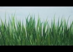 Realistic Drawing Tips Acrylic Painting How to Paint Tall Grass Quick and Easy Painting Tutorial - Simple Acrylic Paintings, Acrylic Painting Techniques, Painting Videos, Easy Paintings, Acrylic Art, Art Techniques, Painting & Drawing, Painting Grass, Painting Classes
