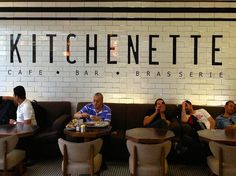 Kitchenette Cafe Bar Brasserie Istanbul Airport Turkey Photograph