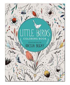 Little Birds Coloring Book Zulilyfinds