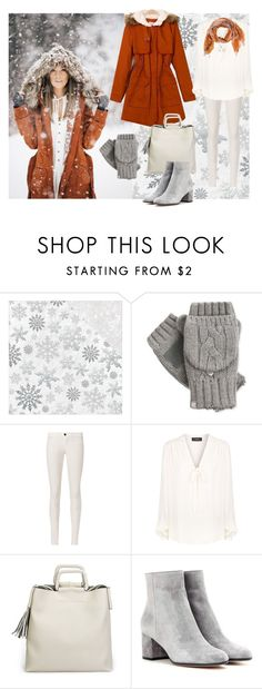 """""""Untitled #464"""" by mayer-fruzsina ❤ liked on Polyvore featuring Kaisercraft, Isotoner, J Brand, Theory, Gianvito Rossi and Dries Van Noten"""