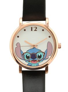 Disney Lilo & Stitch Nerdy Stitch Watch from Hot Topic. Saved to Epic Wishlist. Shop more products from Hot Topic on Wanelo.