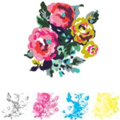 CMYK Rose Stamp by We R Memory Keepers for Scrapbooks, Cards, & Crafting found at FotoBella.com