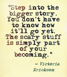 Step into it Writing Quotes, Poetry Quotes, Quotes To Live By, Me Quotes, Qoutes, Victoria Erickson, Daily Encouragement, Meaningful Life, Biblical Quotes