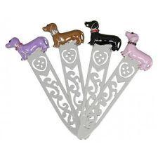 Dachshund Sausage Dog Weiner Dog Diamante Bookmark Brand New In Box