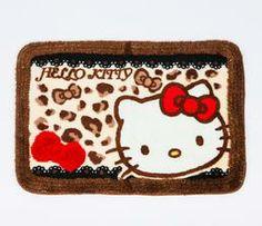 Hello Kitty Floor Mat: Bow