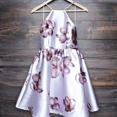 floral fit & flare dress (more colors/prints)