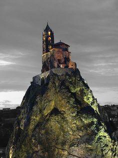 Désaturation partielle de Saint Michel d'Aiguilhe
