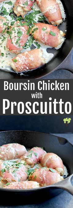 Buttery Boursin, juicy chicken, and salty prosciutto together make this an all-time favorite dinner.
