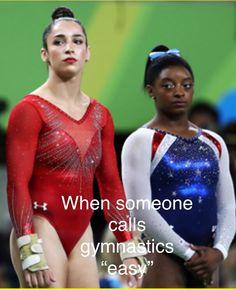 Relatable gymnastics