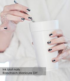 Rorschach Manicure, Halloween Nails http://www.lovemaegan.com/2012/09/halloween-nails-manicure-inspiration.html