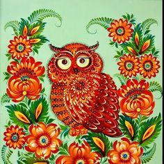Petrykivka artPetrykivka Ukrainian Folk art modern #Slavonik#Dekor#EFolk   ornament, decor, garniture, tracery, pattern, design, tracery, weave,
