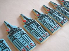 Empire State Building Cookies.