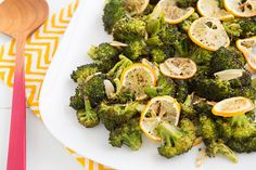 Roasted Broccoli with Meyer Lemon and Garlic.. Trying this tonight! Love broccoli...love lemons...love garlic.....whoa...this might be good!!