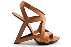 United Nude's Frame sandal. Architecture at its finest.